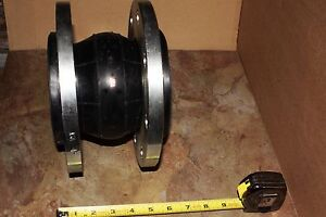 Unaflex Stainless Steel 4 Flange Rubber Expansion Joint Epdm Style 800