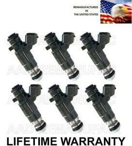 Genuine Set Of 6 Jecs Fuel Injectors For Infiniti Nissan I35 Maxima 3 5l Fbjc101