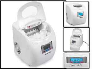 Portable Compact Ice Maker Countertop Lcd Display Ice Cube Machine Commercial