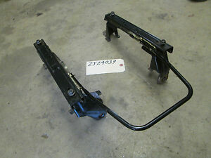 93 94 95 Grand Cherokee Left Front Manual Seat Track Slider Riser Driver