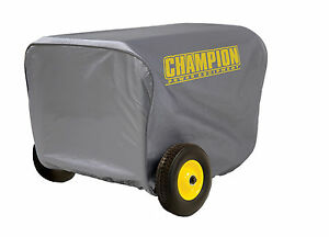 Large Vinyl Cover For Champion Power Equipment Portable Generator C90016