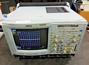 Lecroy Dda 120 Disk Drive Analyzer 1ghz Oscilloscope Hard Soft Options 1