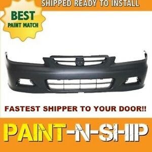 Fits 2001 2002 Honda Accord Coupe Front Bumper Painted Ho1000195