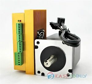 Dsp Closed loop Step Motor Drive Kit 20 70vac 30 100vdc 2ph 6a 4 5nm Nema34 86mm