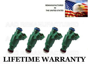 Best Upgrade 4 Hole Nozzle Set Of 4 Fuel Injectors For 03 06 Nissan Sentra 1 8l