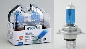 Nokya 9006xs Hb4a 7000k X 1 Set Bulb Nok7419 55w Head Lamp Low Beam S1 White Fit
