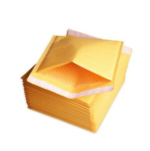 250 0 6x10 Kraft Bubble Mailers Shipping Padded Envelopes Self seal Bubbles
