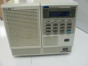 Amrel American Reliance Fel300 1 Programmable Electronic Load