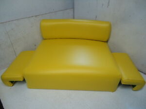 Complete Seat Set With Arm Rests For John Deere A B D G R 50 60 70 520 Tractor