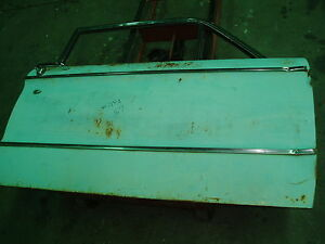 1961 Ford Falcon Front Right Passenger Door 4dr Oem