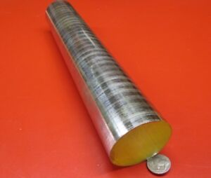 O1 Oil Hardening Tool Steel Rod 2 1 4 Dia 051 X 1 Foot Length