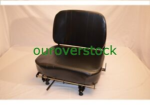 Wise Vinyl Hinged Back Fork Truck Seat yale Hyster Toyota Tcm Cat