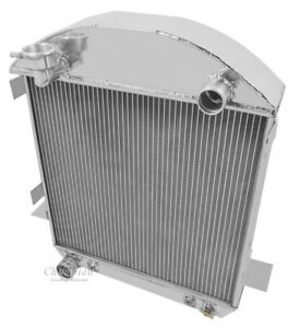 1924 1927 Model T With Ford Config Champion Aluminum 2 Row Radiator