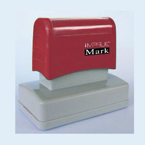 Signature custom Pre Ink Signature Stamp For Office Personal Use 24mm X 60mm