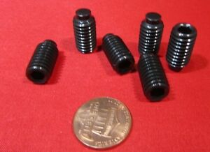 Alloy Steel Dog Point Set Screws Extended Tip 3 8 16 X 3 4 Length 50 Pcs