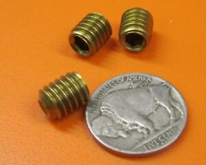 Brass Set Screws Cup Point 5 16 18 X 3 8 Length 50 Pieces