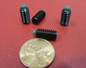 Alloy Steel Set Screws Nylon Tip 1 4 20 X 1 2 Length 25 Pieces
