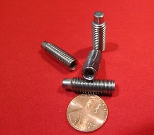 Stainless Dog Point Set Screws Extended Tip M8 X 1 25 X 25mm Length 10 Pcs