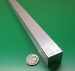 7075 Aluminum Square Bar 1 0 Thick X 1 00 Width X 36 Length