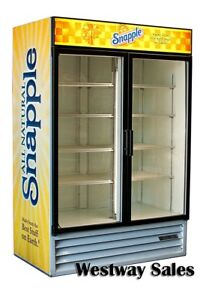 Beverage Air Mt 49 Swing 2 Door Commercial Display Refrigerator Merchandiser