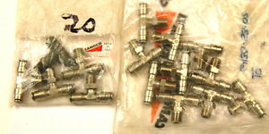 Lot Of 15 Pushlock T s 6430 53 02 1 8npt X 5 32 a 2 6 4 20