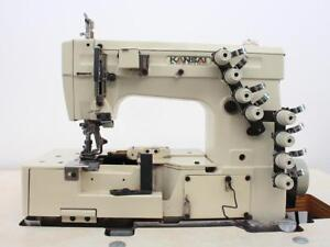 Kansai Special W8103is 2 needle 3 th Picot Coverstitch Industrial Sewing Machine