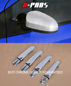 For Toyota Camry 2012 2015 Chrome Mirror Cover Door Handle Cover W o Pskh
