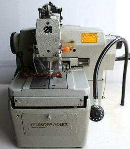 Durkopp Adler 558 Eyelet Tacker Baseball Cap Eye Hole Industrial Sewing Machine