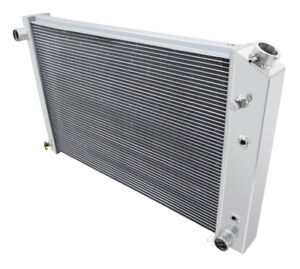 1973 1991 Chevy Suburban Aluminum 3 Row Champion Radiator