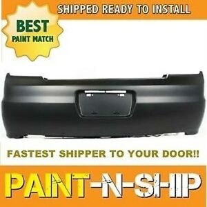 Fits 2001 2002 Honda Accord Coupe Rear Bumper Painted ho1100198