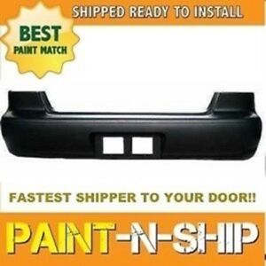 Fits 1998 1999 2000 2001 2002 Toyota Corolla Rear Bumper Painted To1100185