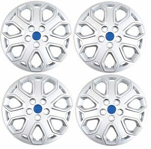 New 2012 2014 Ford Focus 16 Bolt on Wheelcover Hubcaps Set Of 4