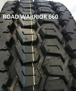4 Tires 295 75r22 5 Drive Tire 4 Brand New Road Warrior Heavy Duty 16 Ply