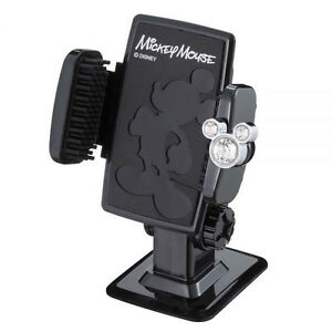 New Disney Mickey Mouse 3d Action Mobile Phone Mount Holder Car Accessories