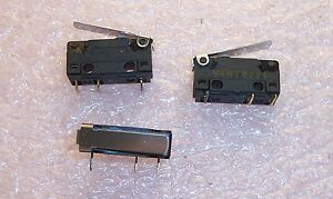 Qty 5 V4nt82y1 Burgess Microswitch With Plain Lever R a Nos