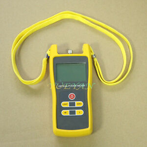 50 To 26dbm Digital Optical Power Meter Laser Fiber Optic Tool Tester Jw3208
