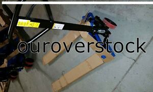 Pallet Jack 27 X 48 5500 Capacity With Pallet Jack Stop