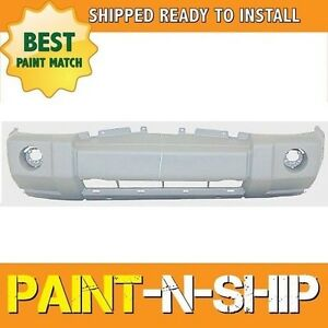 New 2006 2007 2008 2009 2010 Jeep Commander W Crm Front Bumper Painted Ch1000874