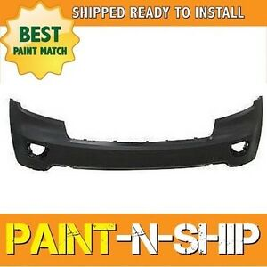 New 2011 2012 2013 Jeep Grand Cherokee W o Park Front Bumper Painted Ch1000979