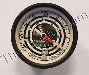 Ford 4 Speed Tachometer Tractor Proofmeter Tach C3nn17360n Naa 600 800 2000
