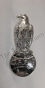 Case Eagle Globe Chrome Front Hood Emblem Medallion Badge Ornament A11492 A24526