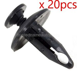 20pcs Safety Switch Rivet Retainer Fastener Clips For Ford Lincoln
