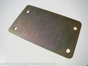 Block Off Plate Only For 93 06 Tremec T56 6 speed Mid shifter Conversion