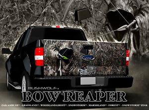 Truck Tailgate Decal Sticker Chevy Dodge Ford Toyota 4x4 Off Road Bow Reaper