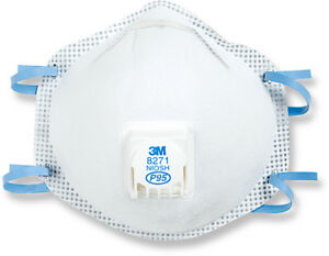 3m 8271 P95 Particulate Respirator Box Of 10