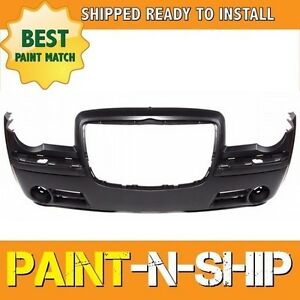 New Fits 2005 2006 2007 Chrysler 300 5 7l Front Bumper Painted Ch1000441