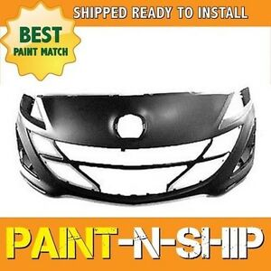 New Fits 2010 2011 Mazda 3 2 0 2 5l Front Bumper Painted Ma1000224