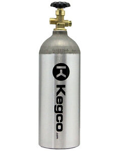 Kegco 5 Lb Co2 Tank Aluminum Air Cylinder Draft Beer Kegerator Welding
