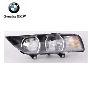 Headlight Assembly halogen With White Turn Signal Genuine For Bmw E36 Z3 99 02
