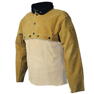 Genuine Pigskin Welding Cape Sleeves Triple Sewn Caiman 3031 Choose Your Size